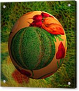 Melon Ball  Acrylic Print