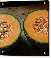 Melon Halves Acrylic Print