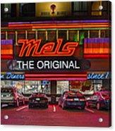Mels Diner Acrylic Print