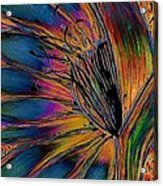 Melted Crayons Acrylic Print