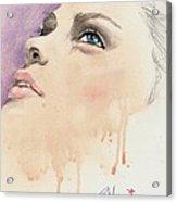 Melting Youthful Beauty Acrylic Print by P J Lewis