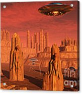 Members Of The Planets Advanced Acrylic Print
