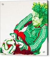 Memo Ochoa Drawing Acrylic Print