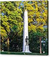 Memorial At Fort Donelson Acrylic Print