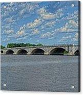 Memorial Bridge After The Storm Acrylic Print