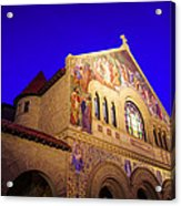 Memorial Church Stanford University Acrylic Print