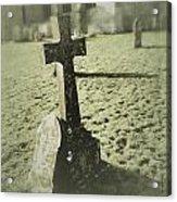 Memorial Cross Acrylic Print