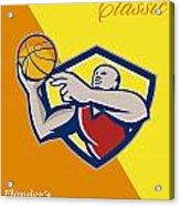 Memorial Day Basketball Classic Poster Acrylic Print