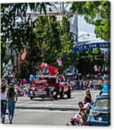 Memorial Day Parade In Grants Pass Acrylic Print