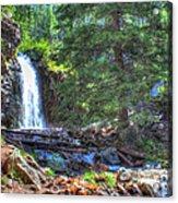 Memorial Falls Logjam Acrylic Print