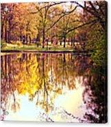 Memorial Park - Henry County Acrylic Print
