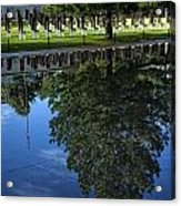 Memorial Reflecting Pool Acrylic Print