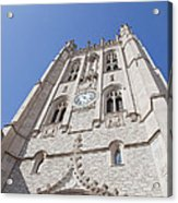 Memorial Union Clock Tower Acrylic Print by Kay Pickens