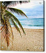 Memories Of A Gentle Wave Acrylic Print