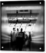 Memories Of Entering The Cathedral Of Baseball Acrylic Print