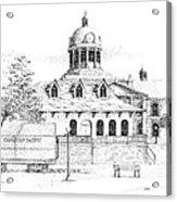 Memories Of Kingston Acrylic Print