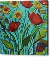 Memories Of The Meadow Acrylic Print