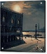 Memories Of Venice No 2 Acrylic Print