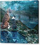 Memory Bay Acrylic Print by Judy Wood