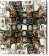 Memory Boxes-fractal Art Acrylic Print