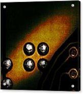 Memory Chip Number Three Acrylic Print by Bob Orsillo