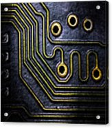 Memory Chip Number Two Acrylic Print