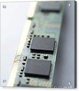 Memory Chips Acrylic Print