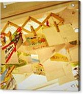 Memory Of Cicada Acrylic Print