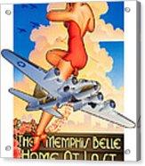 Memphis Belle Poster Acrylic Print