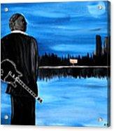 Memphis Dream With B B King Acrylic Print