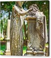Memphis Elmwood Cemetery Monument - Cassie Hill Acrylic Print