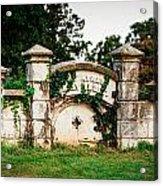Memphis Elmwood Cemetery - Ayres Family Vault Acrylic Print