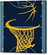 Memphis Grizzlies Court Acrylic Print