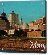Memphis  Acrylic Print