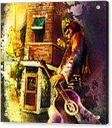 Memphis Nights 06 Madness Acrylic Print