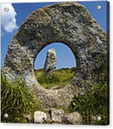 Men An Tol Neolithic Monument Acrylic Print