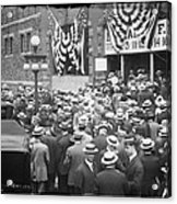Men At 1912 Republican National Convention Acrylic Print