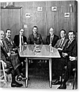 Men At A Business Meeting Acrylic Print