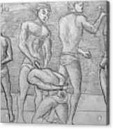 Men In Jail Acrylic Print