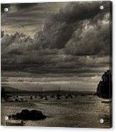 Menacing Clouds Acrylic Print