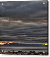 Menacing Skies Acrylic Print