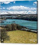 Menai Bridge 1819 Acrylic Print