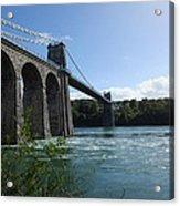 Menai Bridge Acrylic Print