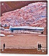 Mendenhall Glacier Juneau 2 Acrylic Print