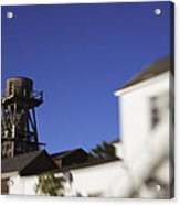 Mendocino Water Tower Acrylic Print