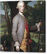 Mengs, Anton Raphael 1728-1779. Charles Acrylic Print
