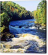 Menominee River At Piers Gorge, Upper Acrylic Print