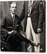 Men's Fashion, 1917 Acrylic Print