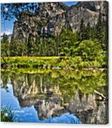 Merced River Yosmite Acrylic Print