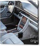 Mercedes 560 Sec Interior Acrylic Print